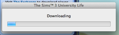 Sims University Update Loading 2